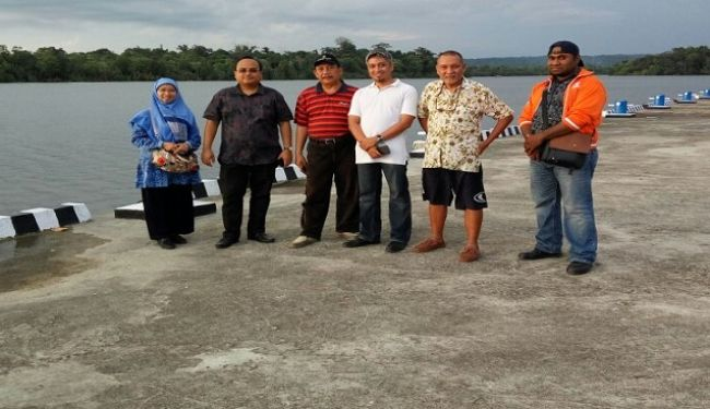Lemtek UI Visited To South Sorong In West Papua 2