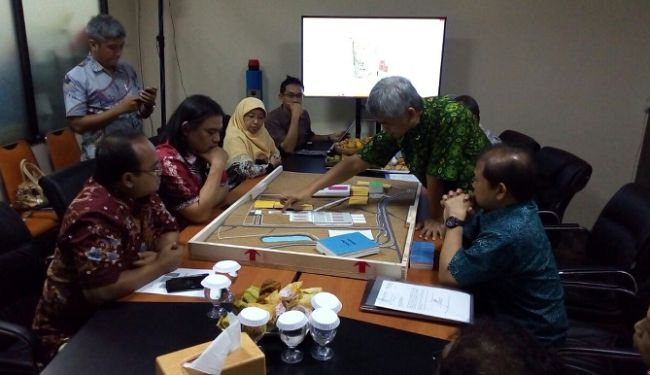 Masterplan of Urban Forrest and Sport Center of University of Indonesia at Depok 4