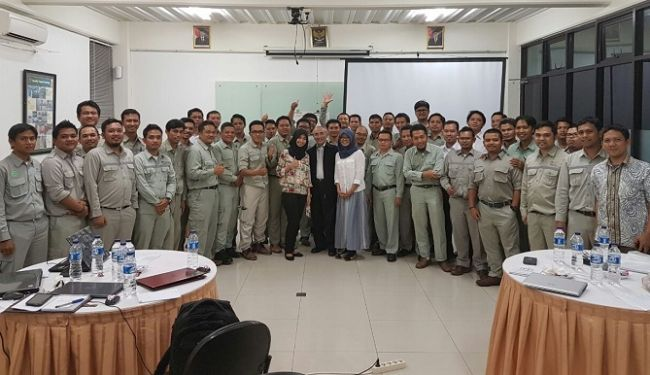 Project Management Training for Project Managers in PT. PP Tbk 3