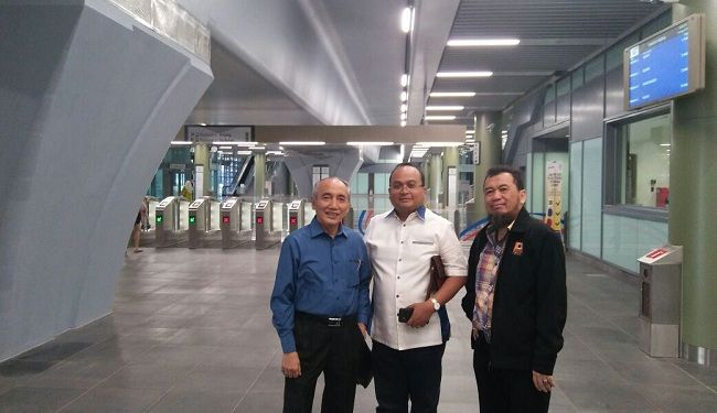 Lemtek Went To MRT Project in Malaysia 6
