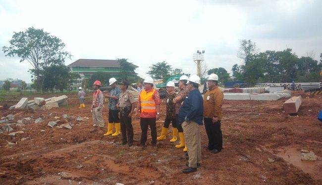 Groundbreaking of Foundation Work of Mandiri University at Wijayakusuma Jakarta 3